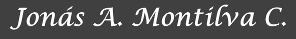 Web de Jonás A. Montilva C.